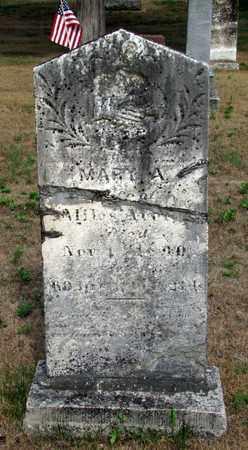 AVERY, MARY A. - Adams County, Wisconsin | MARY A. AVERY - Wisconsin Gravestone Photos