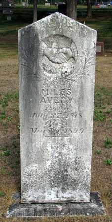 AVERY, MILES - Adams County, Wisconsin | MILES AVERY - Wisconsin Gravestone Photos