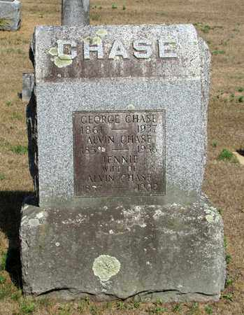 CHASE, JENNIE - Adams County, Wisconsin | JENNIE CHASE - Wisconsin Gravestone Photos
