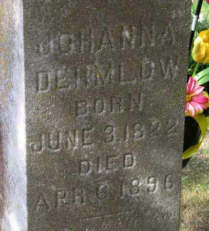 DEHMLOW, JOHANNA - Adams County, Wisconsin | JOHANNA DEHMLOW - Wisconsin Gravestone Photos