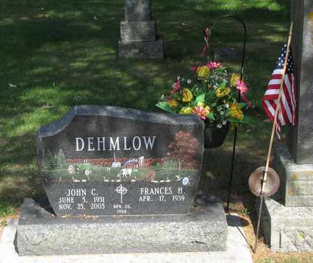 DEHMLOW, JOHN C. - Adams County, Wisconsin | JOHN C. DEHMLOW - Wisconsin Gravestone Photos
