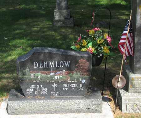 DEHMLOW, JOHN C. - Adams County, Wisconsin | JOHN C. DEHMLOW - Wisconsin Gravestone Photos