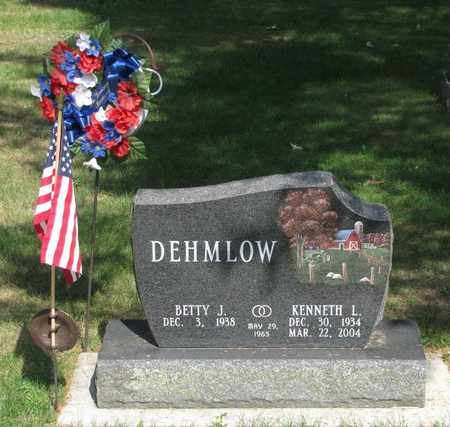 DEHMLOW, KENNETH L. - Adams County, Wisconsin | KENNETH L. DEHMLOW - Wisconsin Gravestone Photos