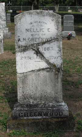 GREENWOOD, NELLIE E. - Adams County, Wisconsin | NELLIE E. GREENWOOD - Wisconsin Gravestone Photos