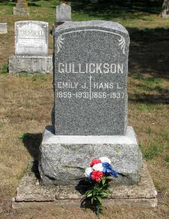 GULLICKSON, HANS L. - Adams County, Wisconsin | HANS L. GULLICKSON - Wisconsin Gravestone Photos