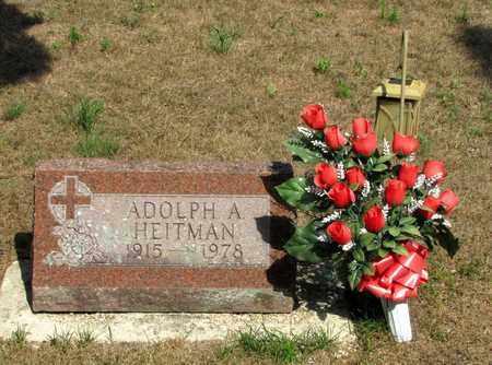 HEITMAN, ADOLPH A. - Adams County, Wisconsin   ADOLPH A. HEITMAN - Wisconsin Gravestone Photos