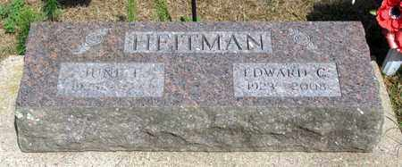 HEITMAN, EDWARD C. - Adams County, Wisconsin | EDWARD C. HEITMAN - Wisconsin Gravestone Photos