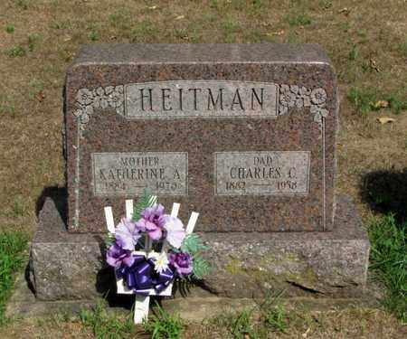 HEITMAN, KATHERINE A. - Adams County, Wisconsin | KATHERINE A. HEITMAN - Wisconsin Gravestone Photos
