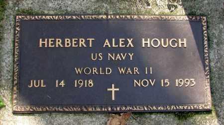 HOUGH, HERBERT ALEX - Adams County, Wisconsin | HERBERT ALEX HOUGH - Wisconsin Gravestone Photos