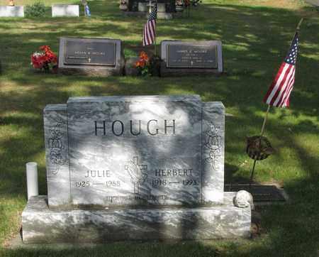HOUGH, JULIE - Adams County, Wisconsin | JULIE HOUGH - Wisconsin Gravestone Photos
