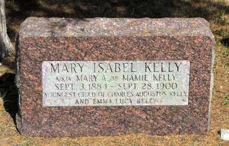 KELLY, MARY ISABEL - Adams County, Wisconsin | MARY ISABEL KELLY - Wisconsin Gravestone Photos