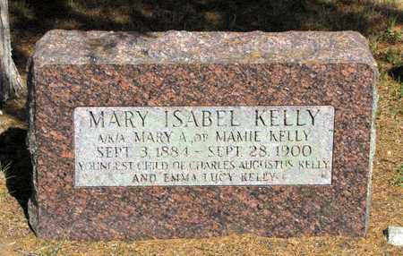 KELLY, MARY ISABEL - Adams County, Wisconsin | MARY ISABEL KELLY - Wisconsin Gravestone Photos