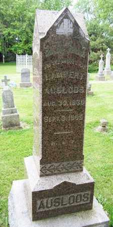 AUSLOOS, LAMBERT - Brown County, Wisconsin | LAMBERT AUSLOOS - Wisconsin Gravestone Photos