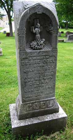 COEL, DESIRE - Brown County, Wisconsin | DESIRE COEL - Wisconsin Gravestone Photos