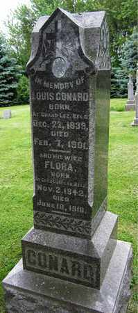 CONARD, LOUIS - Brown County, Wisconsin   LOUIS CONARD - Wisconsin Gravestone Photos