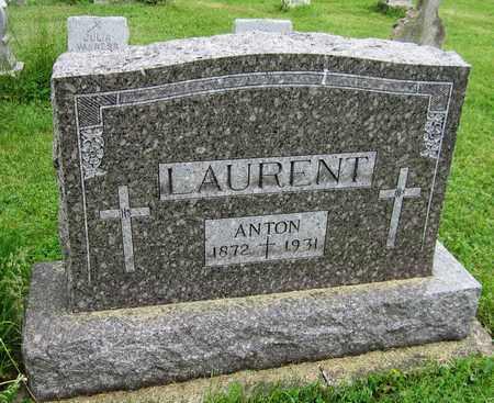 LAURENT, ANTON - Brown County, Wisconsin | ANTON LAURENT - Wisconsin Gravestone Photos