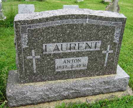 LAURENT, ANTON - Brown County, Wisconsin | ANTON LAURENT - Wisconsin Gravestone Photos