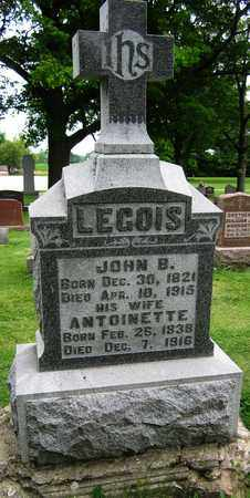 LEGOIS, JOHN B. - Brown County, Wisconsin | JOHN B. LEGOIS - Wisconsin Gravestone Photos