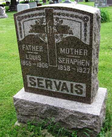 SERVAIS, SERAPHEN - Brown County, Wisconsin | SERAPHEN SERVAIS - Wisconsin Gravestone Photos