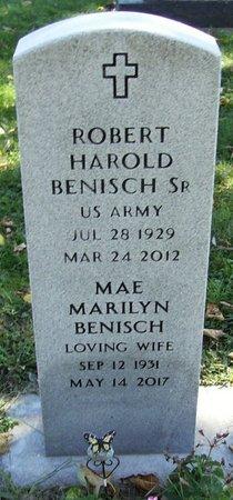 "BENISCH, SR., ROBERT HAROLD ""BOB"" - Dane County, Wisconsin | ROBERT HAROLD ""BOB"" BENISCH, SR. - Wisconsin Gravestone Photos"
