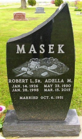 MASEK, ADELLA MAE - Dane County, Wisconsin   ADELLA MAE MASEK - Wisconsin Gravestone Photos