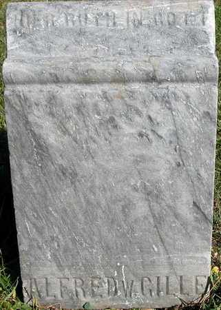 GILLE, ALFRED - Dodge County, Wisconsin | ALFRED GILLE - Wisconsin Gravestone Photos