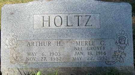 HOLTZ, MERLE G. - Dodge County, Wisconsin | MERLE G. HOLTZ - Wisconsin Gravestone Photos