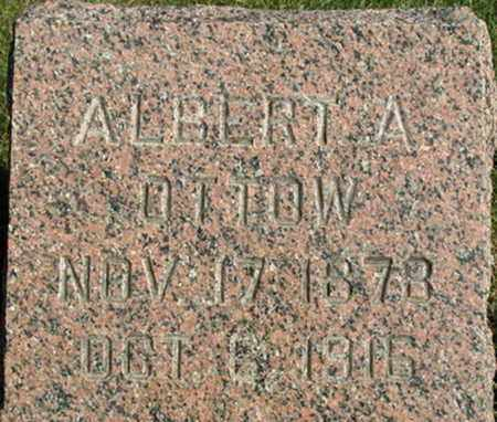 OTTOW, ALBERT A. - Dodge County, Wisconsin | ALBERT A. OTTOW - Wisconsin Gravestone Photos