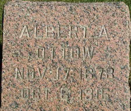 OTTOW, ALBERT A. - Dodge County, Wisconsin   ALBERT A. OTTOW - Wisconsin Gravestone Photos