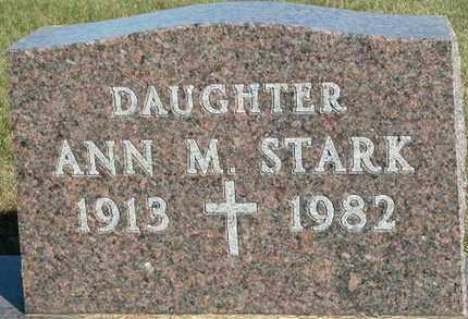 STARK, ANN - Dodge County, Wisconsin | ANN STARK - Wisconsin Gravestone Photos