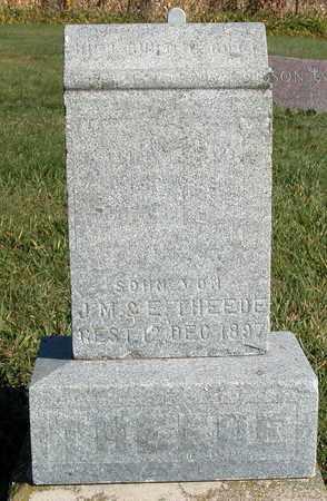 THEEDE, ? - Dodge County, Wisconsin | ? THEEDE - Wisconsin Gravestone Photos