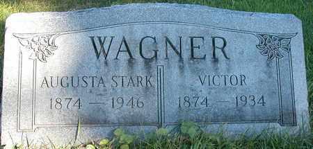STARK WAGNER, AUGUSTA - Dodge County, Wisconsin | AUGUSTA STARK WAGNER - Wisconsin Gravestone Photos