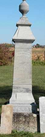 WENDT, FRIEDRICH - Dodge County, Wisconsin | FRIEDRICH WENDT - Wisconsin Gravestone Photos