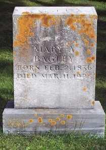 BAGLEY, MARY ANN - Grant County, Wisconsin | MARY ANN BAGLEY - Wisconsin Gravestone Photos