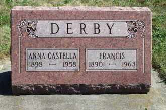 SHRAKE DERBY, ANNA CASTELLA - Grant County, Wisconsin | ANNA CASTELLA SHRAKE DERBY - Wisconsin Gravestone Photos
