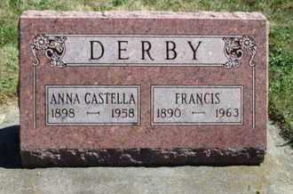 DERBY, ANNA CASTELLA - Grant County, Wisconsin   ANNA CASTELLA DERBY - Wisconsin Gravestone Photos