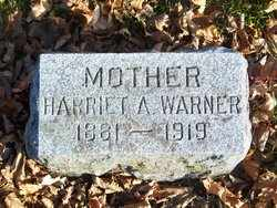 FUNK WARNER, HARRIET A. - Jefferson County, Wisconsin | HARRIET A. FUNK WARNER - Wisconsin Gravestone Photos