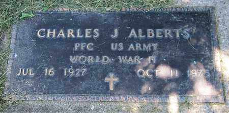 ALBERTS, CHARLES J. - Kewaunee County, Wisconsin | CHARLES J. ALBERTS - Wisconsin Gravestone Photos