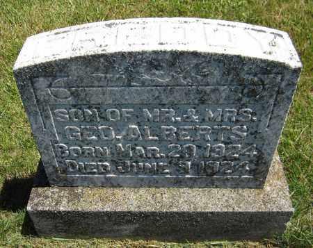 ALBERTS, FREDDY - Kewaunee County, Wisconsin | FREDDY ALBERTS - Wisconsin Gravestone Photos