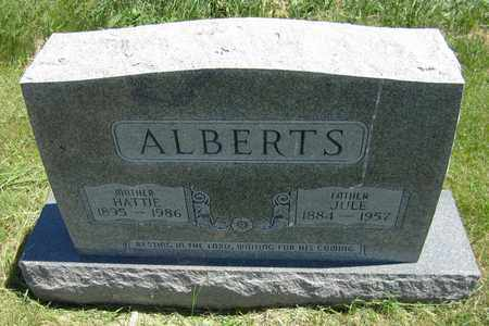 ALBERTS, HATTIE - Kewaunee County, Wisconsin | HATTIE ALBERTS - Wisconsin Gravestone Photos