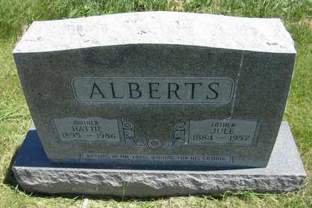 ALBERTS, JULE - Kewaunee County, Wisconsin   JULE ALBERTS - Wisconsin Gravestone Photos