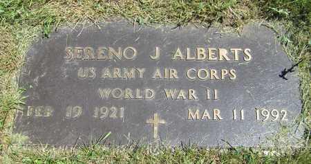 ALBERTS, SERENO J. - Kewaunee County, Wisconsin | SERENO J. ALBERTS - Wisconsin Gravestone Photos