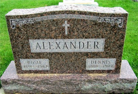 ALEXANDER, DENNIS - Kewaunee County, Wisconsin | DENNIS ALEXANDER - Wisconsin Gravestone Photos