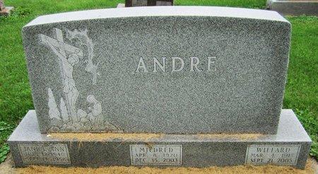 ANDRE, WILLARD - Kewaunee County, Wisconsin | WILLARD ANDRE - Wisconsin Gravestone Photos