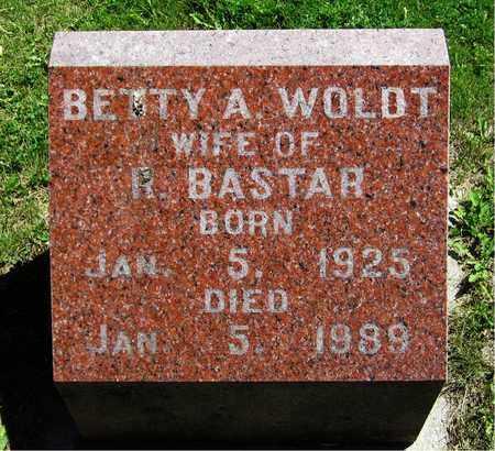 WOLDT BASTAR, BETTY A. - Kewaunee County, Wisconsin   BETTY A. WOLDT BASTAR - Wisconsin Gravestone Photos