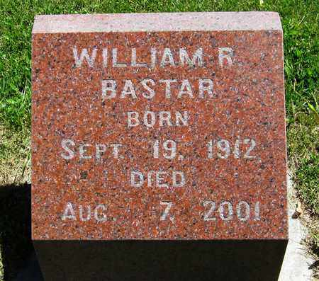 BASTAR, WILLIAM R. - Kewaunee County, Wisconsin | WILLIAM R. BASTAR - Wisconsin Gravestone Photos