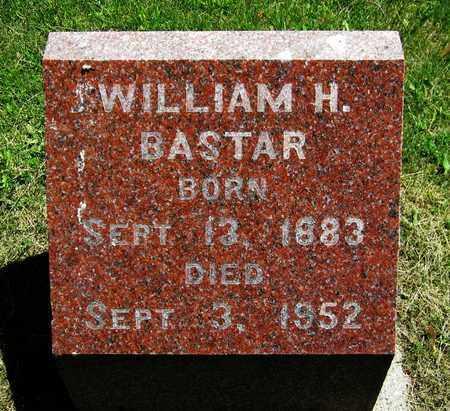 BASTAR, WILLIAM H. - Kewaunee County, Wisconsin   WILLIAM H. BASTAR - Wisconsin Gravestone Photos