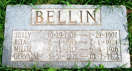 BELLIN, RITA - Kewaunee County, Wisconsin | RITA BELLIN - Wisconsin Gravestone Photos