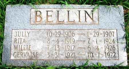 BELLIN, MILLIE - Kewaunee County, Wisconsin | MILLIE BELLIN - Wisconsin Gravestone Photos