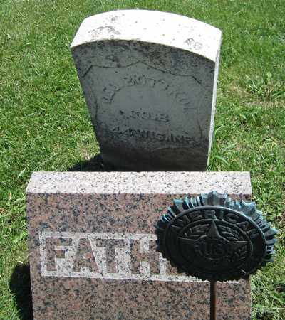 BOTTKOL, GEORGE - Kewaunee County, Wisconsin   GEORGE BOTTKOL - Wisconsin Gravestone Photos